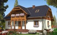 domy drewniane projekty