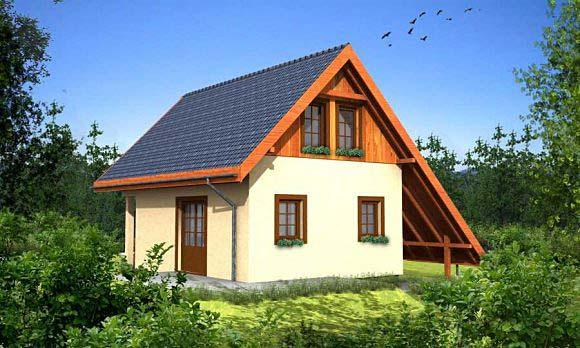 projekty domów drewnianych